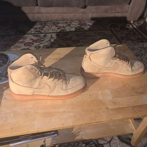 Air Force One High Size 13 Flax